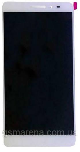 Дисплей модуль Lenovo Phab PB1-750M Белый