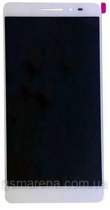 Дисплей модуль Lenovo Phab PB1-750M Белый, фото 2