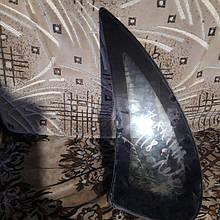 Стекло боковое глухое левое Ваз 1118 б у