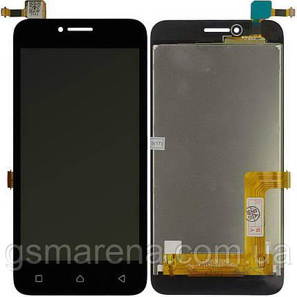 Дисплей модуль Lenovo Vibe B A2016a40, A1010, A1020 Черный, фото 2