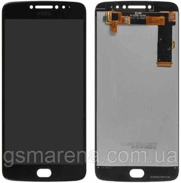 Дисплей модуль Motorola Moto E4 Plus XT1770, XT1771, XT1775 Черный