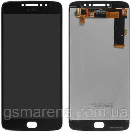 Дисплей модуль Motorola Moto E4 Plus XT1770, XT1771, XT1775 Черный, фото 2