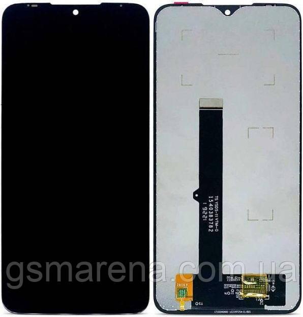 Дисплей модуль Motorola Moto G8 Plus XT2019 Черный
