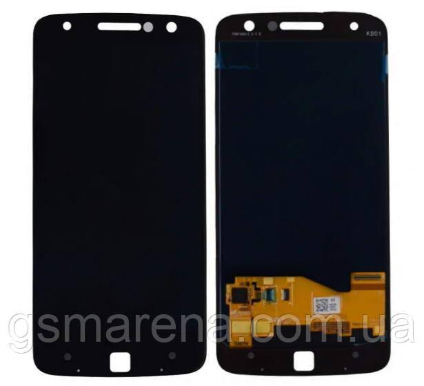 Дисплей модуль Motorola Moto Z XT1650 Черный
