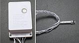 LED гирлянда 8 режимов 10м 100LED теплый свет, фото 3