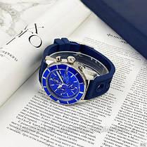 Годинники чоловічі наручні Breitling A23870 Chronographe Blue-Silver / репліка ААА класу, фото 2