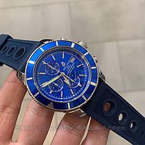 Часы мужские наручные Breitling A23870 Chronographe Blue-Silver / реплика ААА класса, фото 2