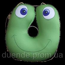 Подушка в дорогу Турист антистресс, полистерольные шарики, размер 35*35см / tp - 180117-1\2