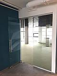 Цельностеклянная дверь, фото 3