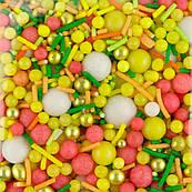 Микс Мандариновое счастье SD Pearls декор кондитерский (50 гр.)
