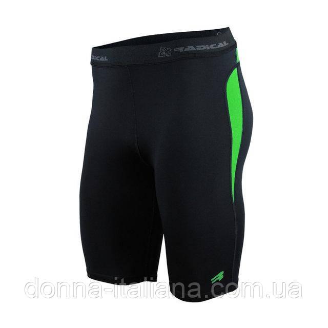 Спортивні чоловічі шорти-тайтсы Radical Rapid M Чорний