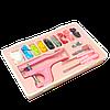 Набор для установки пластиковых кнопок Sindtex розовый (СИНДТЕКС-0777), фото 3