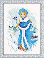 Набор для вышивки крестом Риолис 1415 Снегурочка