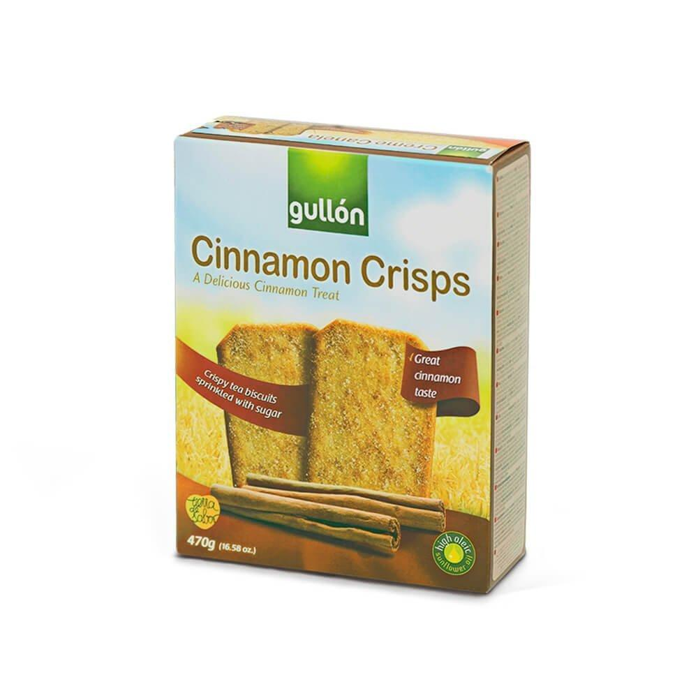 GULLON Creme canela (печиво з корицею 470g)