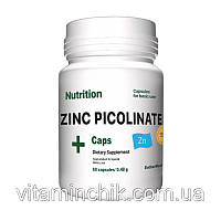 Мінеральний комплекс EntherMeal Zinc Picolinate 60 капсул