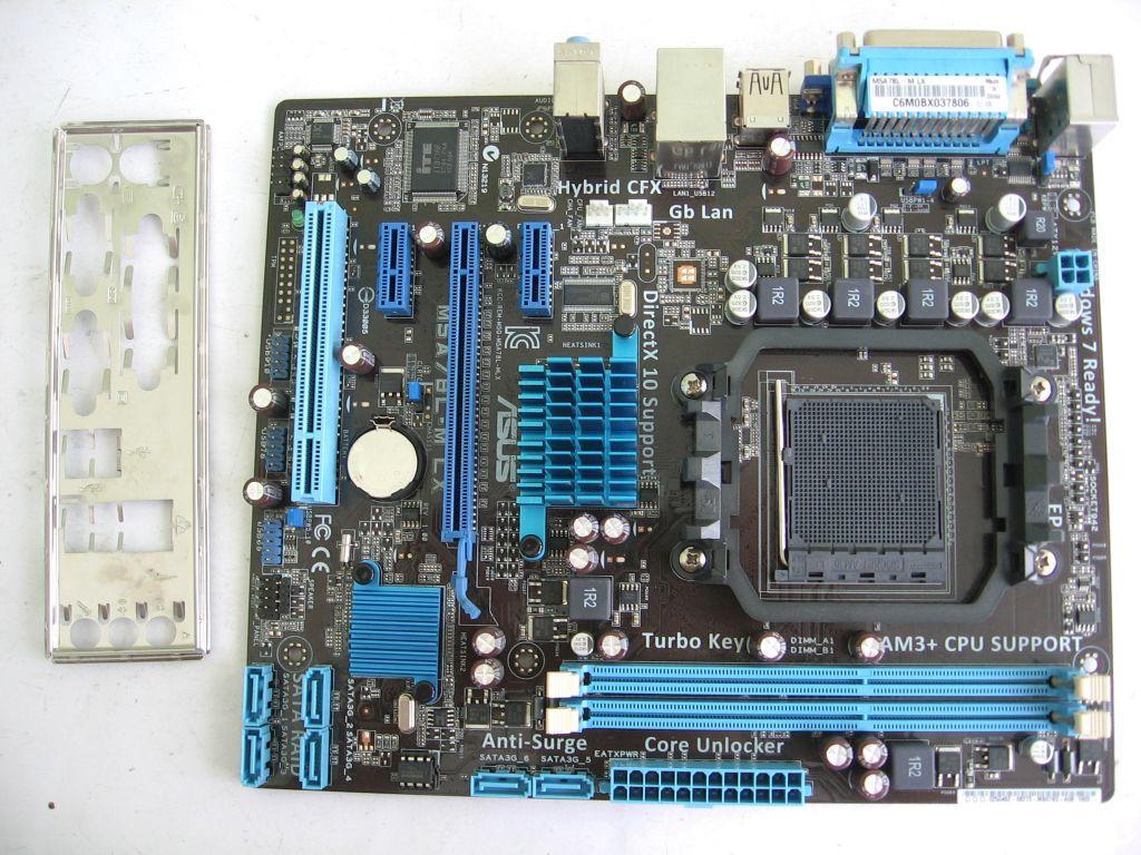 Плата под AMD sAM3+/ AM3 ASUS M5A78L-M LX на DDR3 ! Понимает ВСЕ 2-6 ЯДЕРНЫЕ ПРОЦЫ AM3 + FX СЕРИЮ до FX 8370E