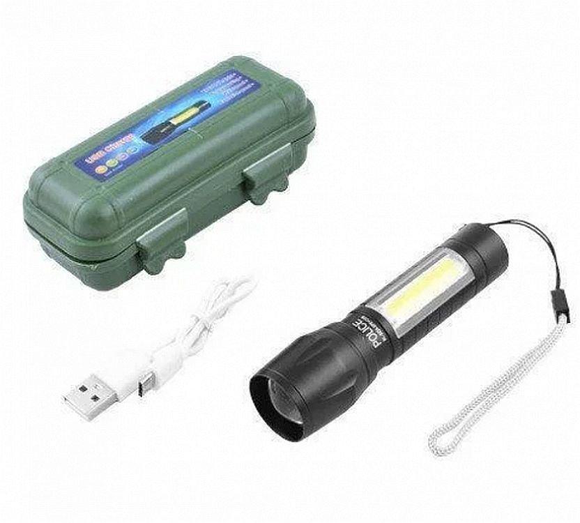 Фонарь ручной аккумуляторный bl-511