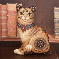 Набор для вышивки крестом Panna ПД-1636 Кошка(Подушка)