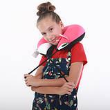 Подушка дорожная рогалик антистресс, полистерольные шарики 37*40 см / tp - 18060, фото 5