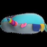 Подушка дорожная рогалик антистресс, полистерольные шарики 37*40 см / tp - 18060, фото 8