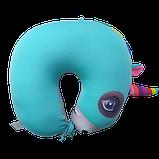 Подушка дорожная рогалик антистресс, полистерольные шарики 37*40 см / tp - 18060, фото 2