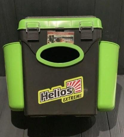 Ящик зимний двухсекционный Тонар Helios Extreme 10л салатовый