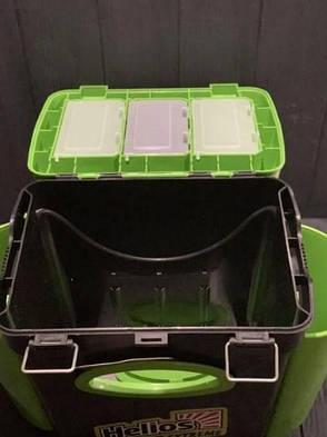 Ящик зимний двухсекционный Тонар Helios Extreme 10л салатовый, фото 2