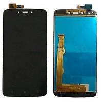 Дисплей модуль Motorola XT1723 Moto C Plus Черный