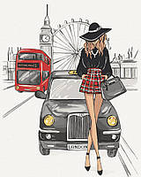 """Картина за номерами. Art Craft """"Елегантність Лондона"""" 38*50 см 10228-AC"""