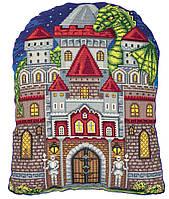 Набор для вышивки крестом Panna Подушка Мой замок ПД-7112