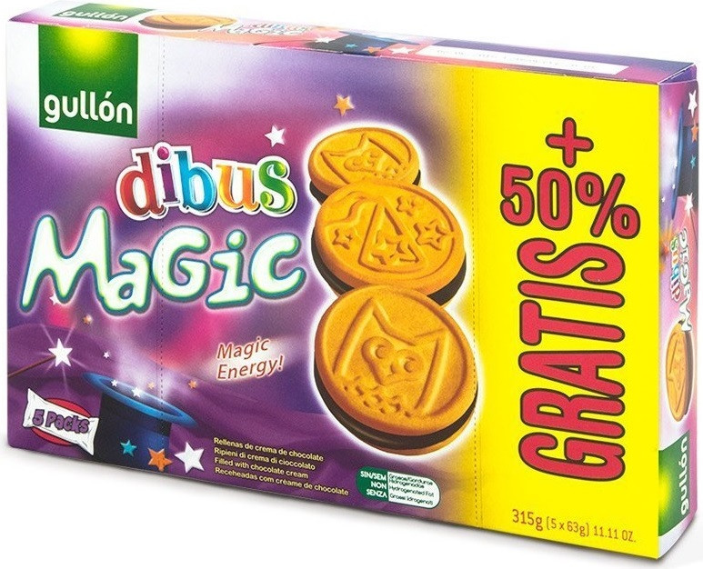 GULLON DIBUS Magic, 220г