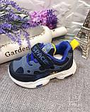 Кросівки дитячі на хлопчика Tom.M 7978D. 21-26 розміри. НОВИНКА 2021 року., фото 3