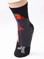 Мультяшні високі чоловічі шкарпетки з принтом Оббите, фото 3