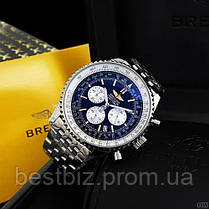 Часы мужские наручные Breitling A24322 Metal Silver-Black / реплика ААА класса, фото 2