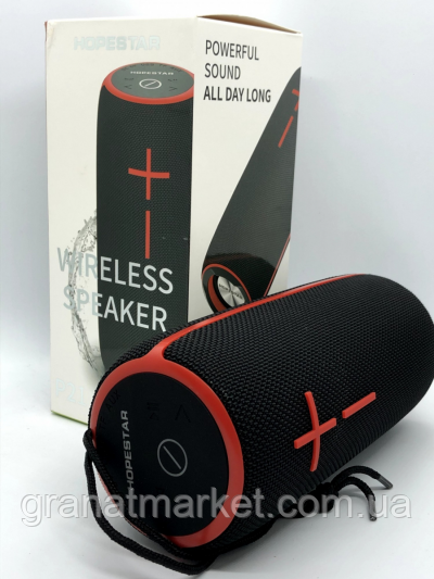 Bluetooth-колонка HOPESTAR-P21, StrongPower, c функцией speakerphone, радио, black