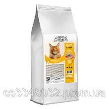 Home CAT Food ADULT корм для великих порід «Індичка і креветка» з хондропротекторами 400гр