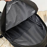 Рюкзак большой HELLO мужской женский школьный портфель бежевый светлый, фото 8