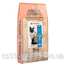 Home Food CAT ADULT корм для крупных пород «Индейка и креветка» с хондропротекторами 10кг