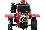 Мотоблок WEIMA WM610Е DeLuxe (дизель 6 л.с., электростартер, колеса 4.00-8), фото 6