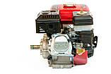 Двигатель бензиновый Weima BT170F-L (R) с редуктором (шпонка, вал 20мм, 1800 об/мин) 7.5 л.с, фото 2