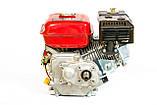 Двигатель бензиновый Weima BT170F-L (R) с редуктором (шпонка, вал 20мм, 1800 об/мин) 7.5 л.с, фото 3
