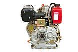 Двигатель дизельный Weima WM186FB (вал под шпонку, 9,5 л.с.), фото 3