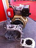 Двигатель дизельный Weima WM188FBE (вал под шлицы) 12 л.с. эл.старт, съемный цилиндр, фото 5