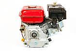 Двигатель бензиновый WEIMA BT170F-Q (HONDA GX210) 7.5 л.с., фото 3