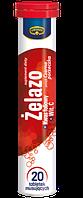 Шипучие таблетки-витамины Kruger Iron 20 таблеток