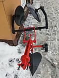 Картофелесажалка оборотная  БелМет для мотоблока (усиленная, опорное колесо), фото 3