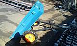 Прицеп-самосвал БелМет 105х120 для квадроцикла усиленный (жигул. ступица, 1,5 мм), фото 2