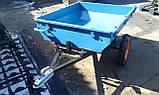 Прицеп-самосвал БелМет 105х120 для квадроцикла усиленный (жигул. ступица, 1,5 мм), фото 3