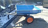 Прицеп-самосвал БелМет 105х120 для квадроцикла усиленный (жигул. ступица, 1,5 мм), фото 10