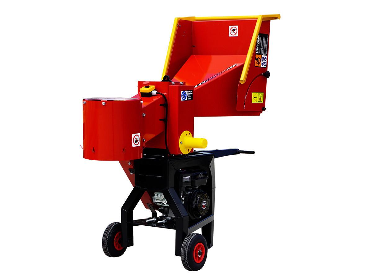 Измельчитель веток Remet RS-100 (80 мм, 18 л.с./бензин)